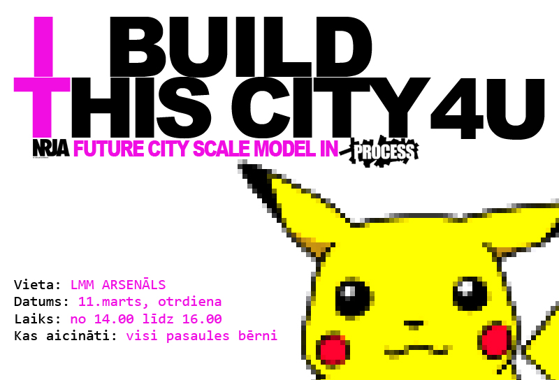 I BUILD THIS CITY 4 U